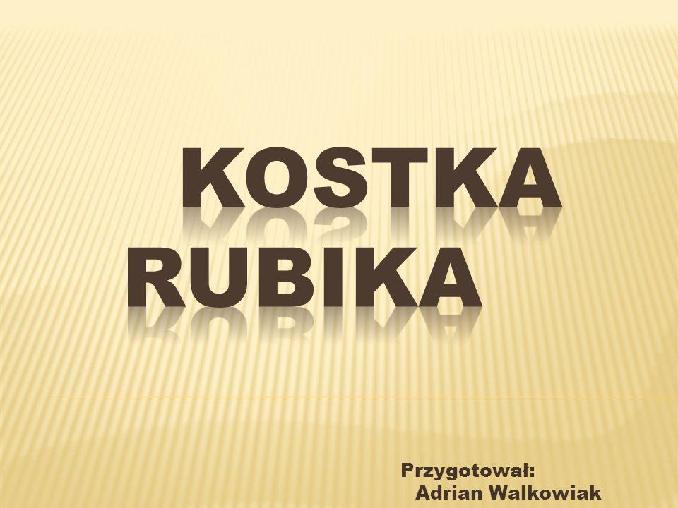 Kostka Rubika popularnie nazywana magiczną kostką to łamigłówka stworzona w 1974 roku przez Ernő Rubika.