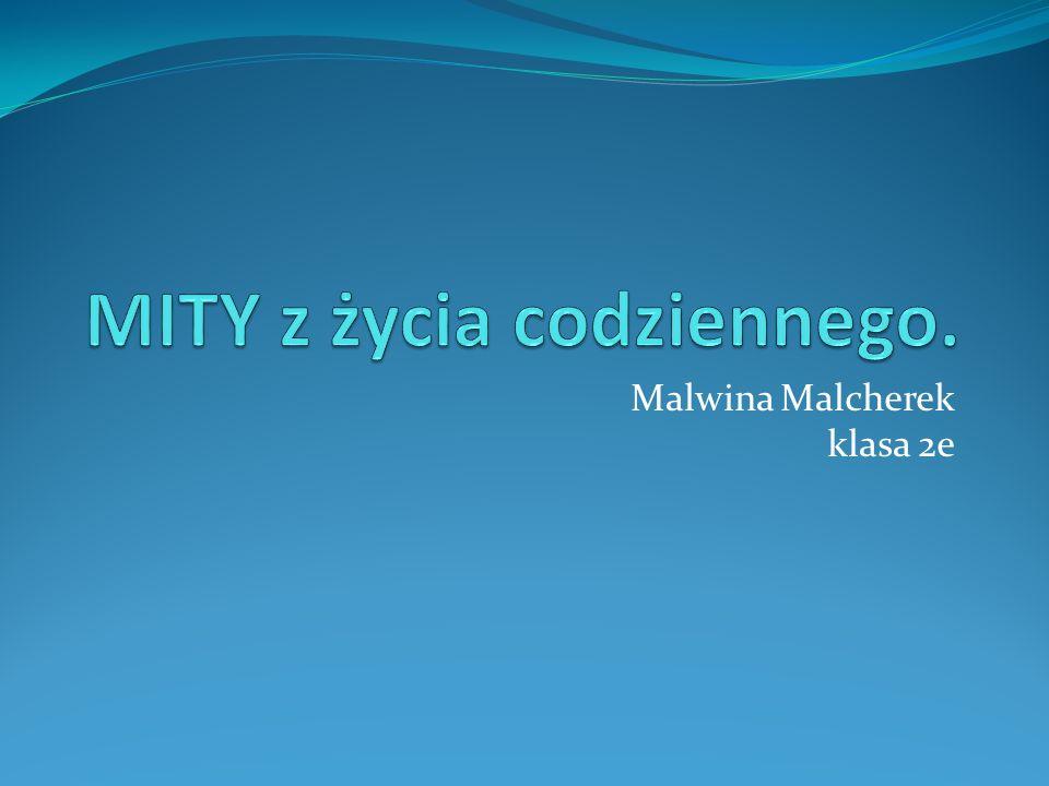 Malwina Malcherek klasa 2e