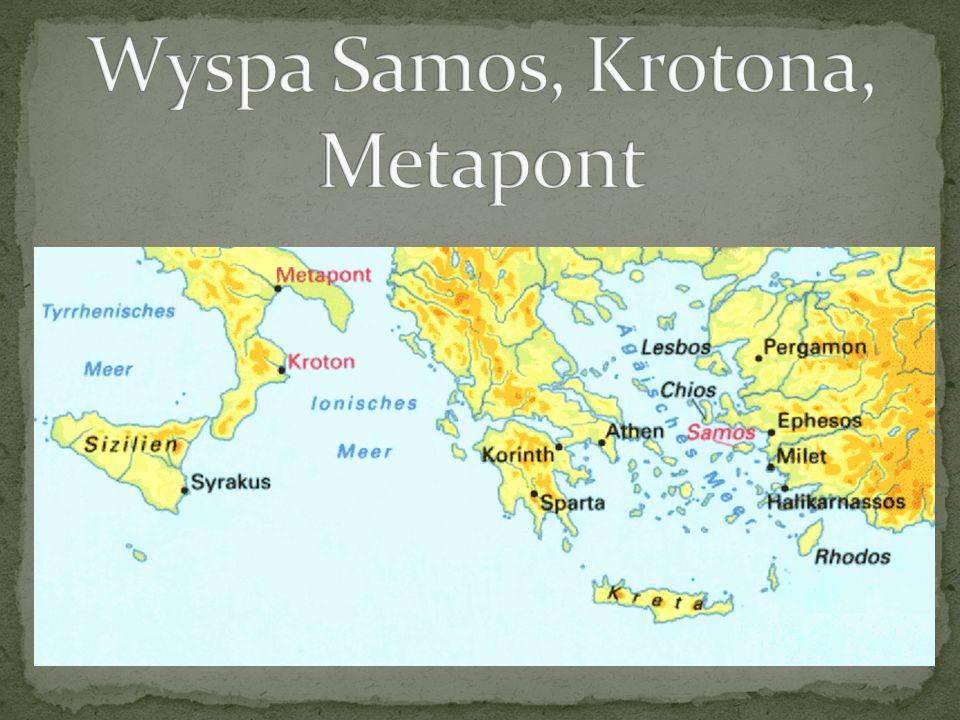 Pitagoras nie zostawił po sobie żadnych pism.
