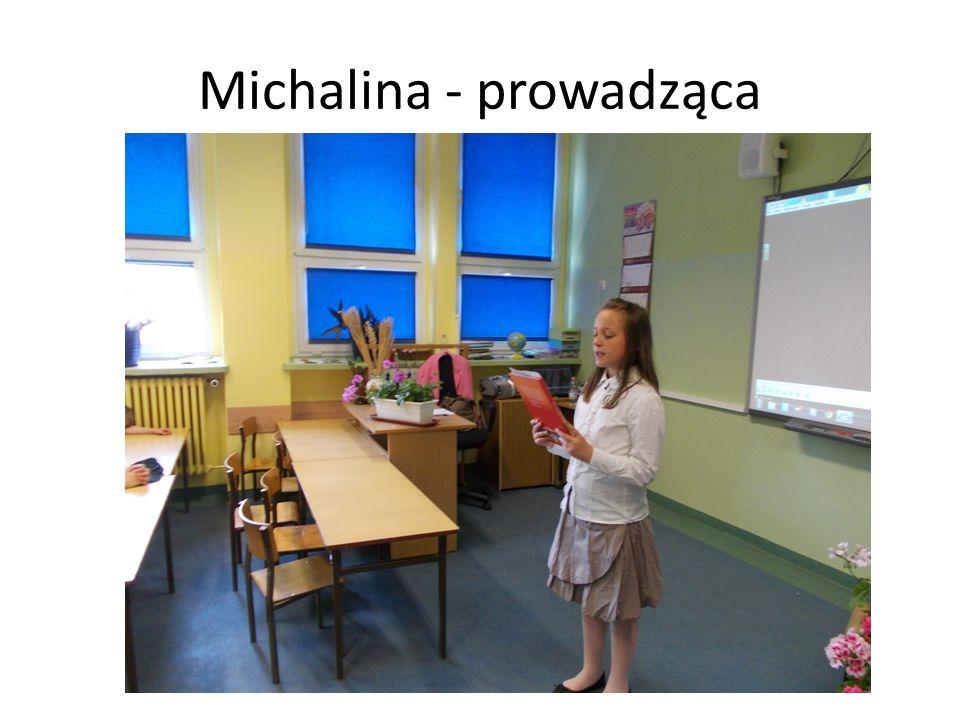 Michalina - prowadząca