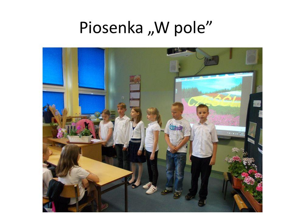 Piosenka W pole
