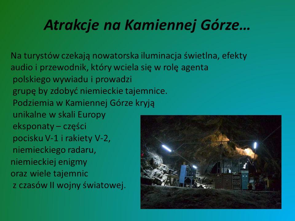 Atrakcje na Kamiennej Górze… Na turystów czekają nowatorska iluminacja świetlna, efekty audio i przewodnik, który wciela się w rolę agenta polskiego w