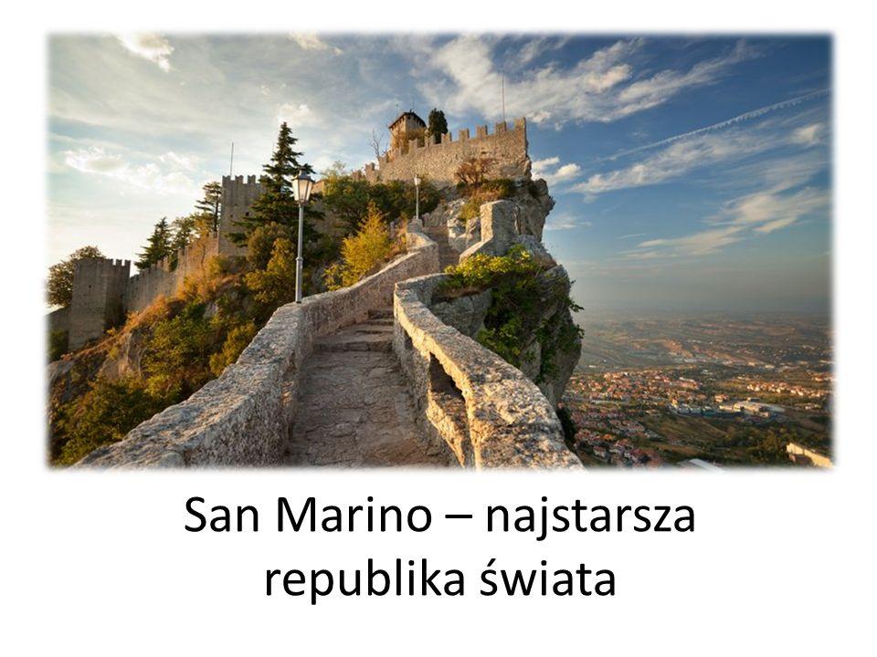 San Marino – najstarsza republika świata