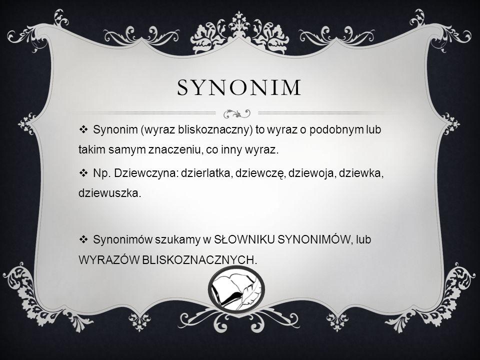 SYMBOL Symbol to umowny znak ukrytej treści w konkretnym dziele literackim bądź plastycznym. Może nim być postać, miejsce, przedmiot lub zdarzenie. Sy