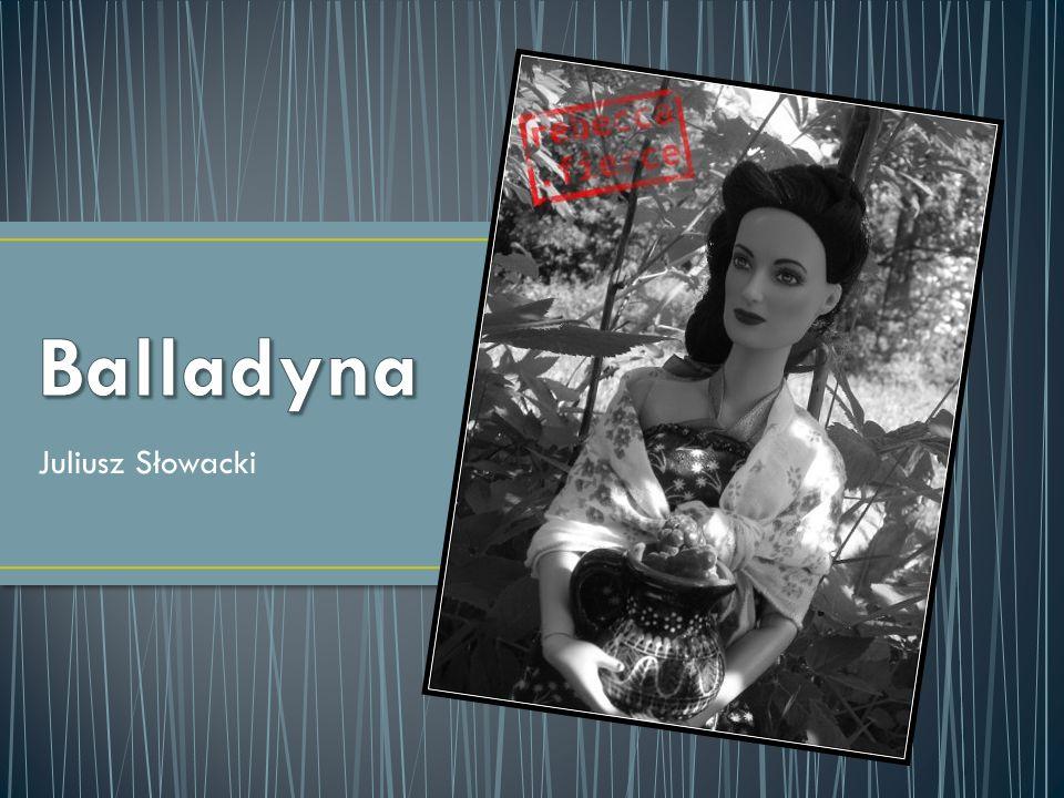 Alina ma całkiem inny charakter niż jej siostra - Balladyna.