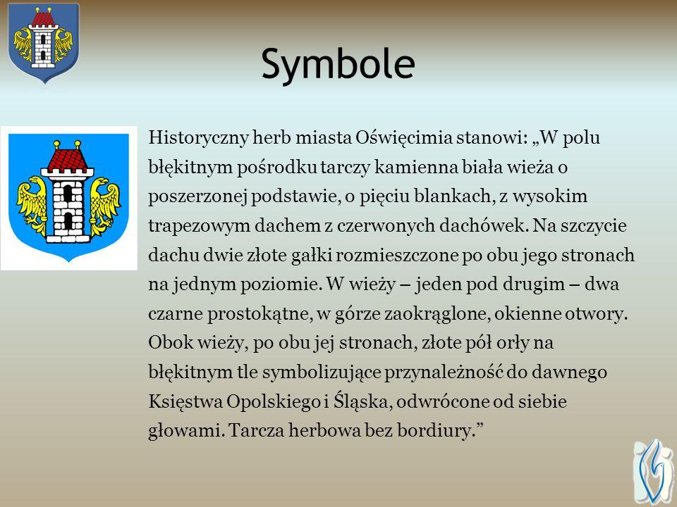 Nazwa Etymolodzy uważają, że nazwa Oświęcim wzięła się od gród Oświęcimia, czyli od imienia osoby władającej tymi terenami. Miasto było jednym z pierw