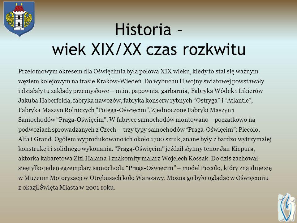 Historia – wojny i rozbiory Okres pomyślności i dobrobytu mieszkańców zakończyło zdobycie miasta przez Szwedów w 1655 roku. Przez prawie 200 lat Oświę