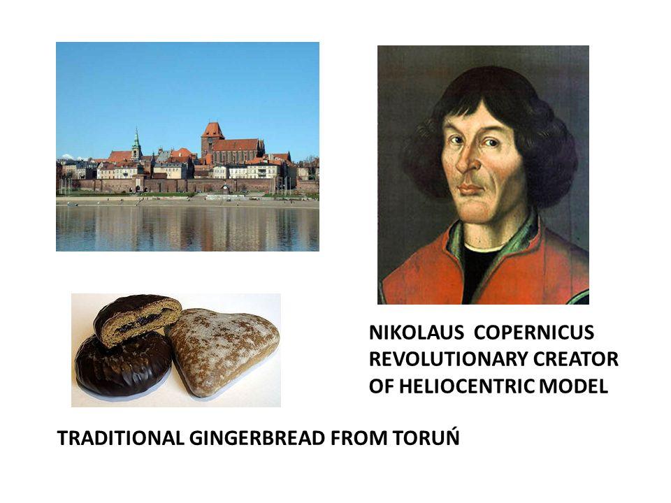 NIKOLAUS COPERNICUS REVOLUTIONARY CREATOR OF HELIOCENTRIC MODEL TRADITIONAL GINGERBREAD FROM TORUŃ