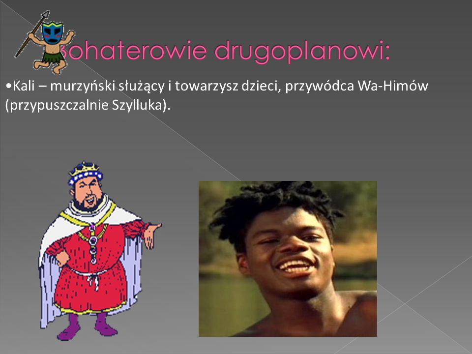 Mea – murzyńska służąca, pochodząca z plemienia Dinka.