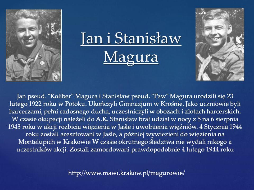Jan i Stanisław Magura Jan pseud.