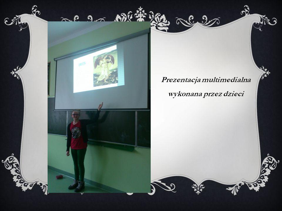 Prezentacja multimedialna wykonana przez dzieci
