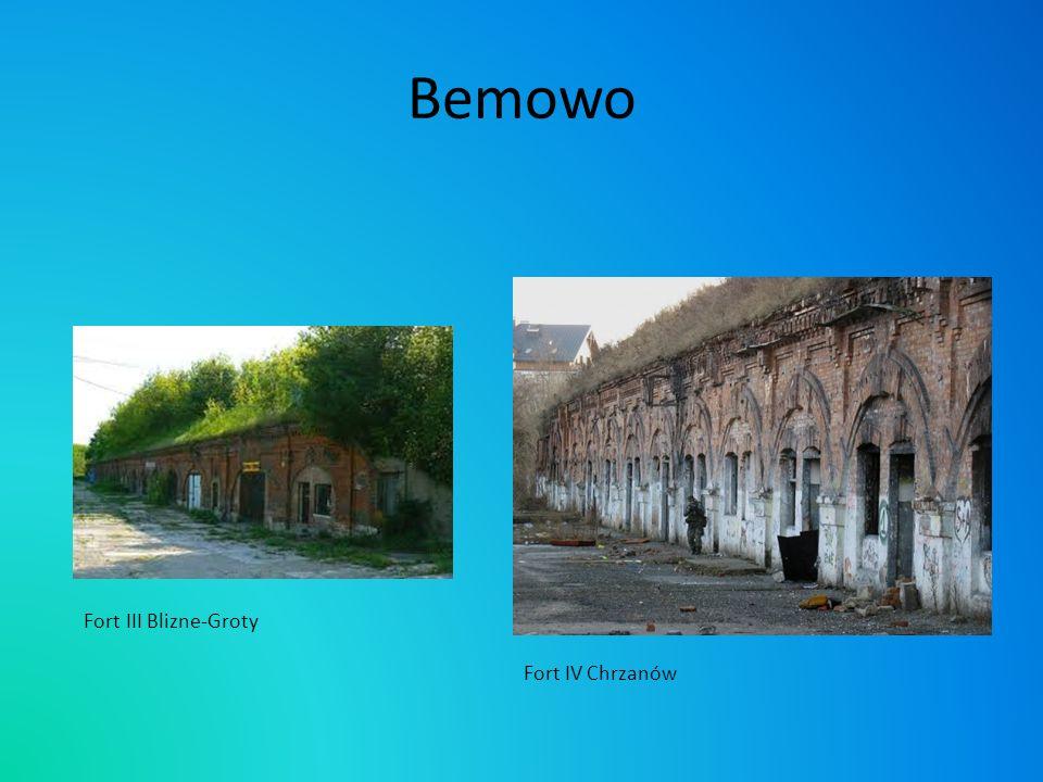 Bemowo Fort III Blizne-Groty Fort IV Chrzanów