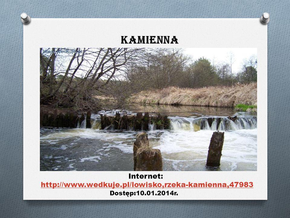 Internet: http://www.wedkuje.pl/lowisko,rzeka-kamienna,47983 Dostęp:10.01.2014r. Kamienna