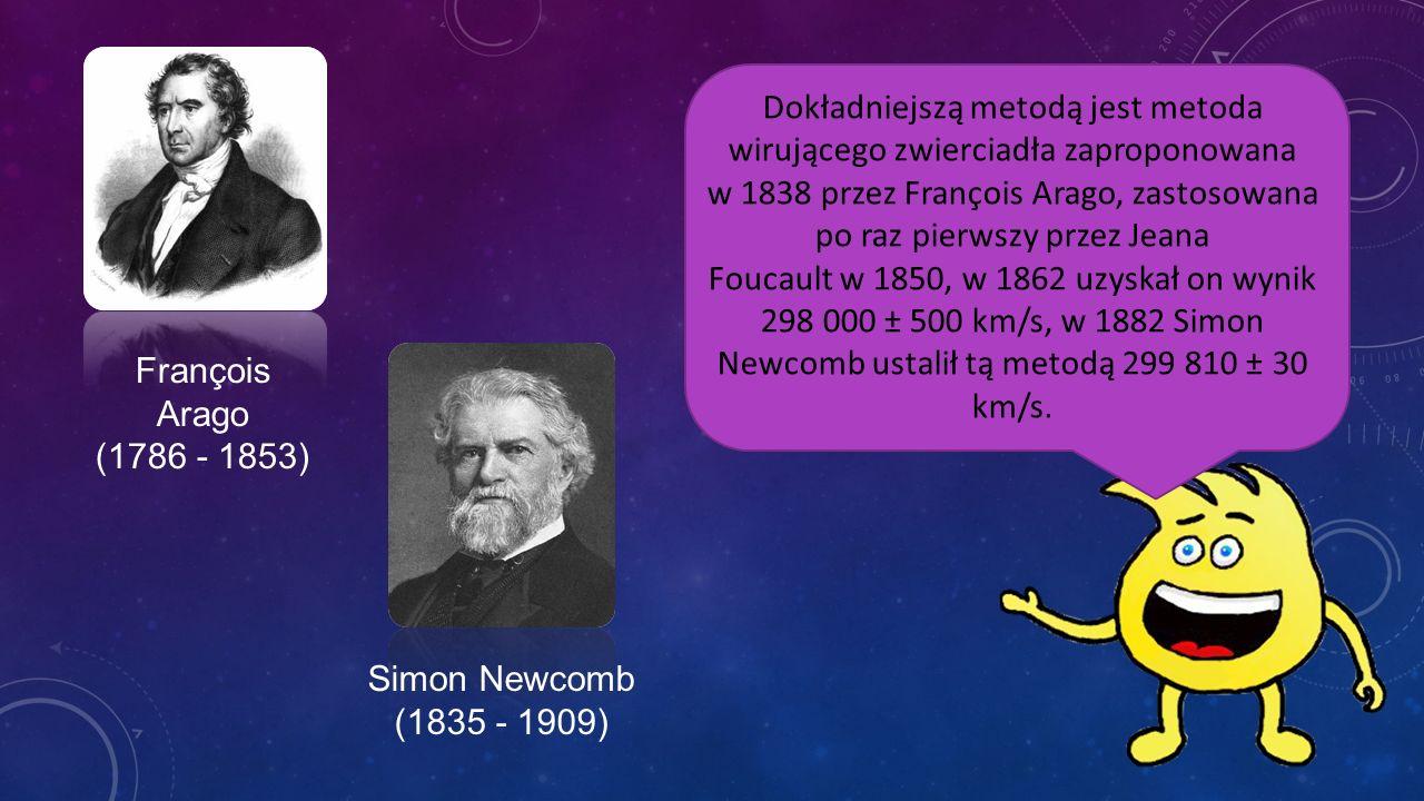 Pierwszego laboratoryjnego pomiaru prędkości światła dokonał w 1849 roku francuski fizyk Armand Fizeau używając zwierciadła i koła zębatego. Otrzymany