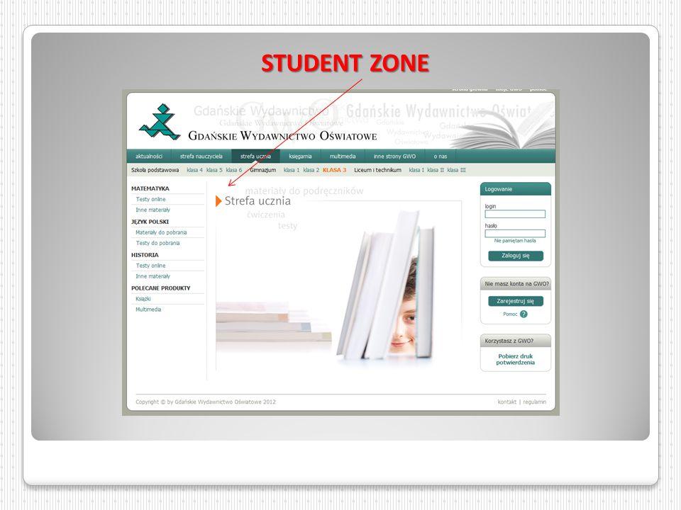 STUDENT ZONE