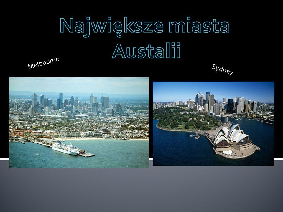 Nielicznymi mieszkańcami Australii są Aborygeni, przeważnie w Australii ludność europejska występuje przy wybrzeżach.