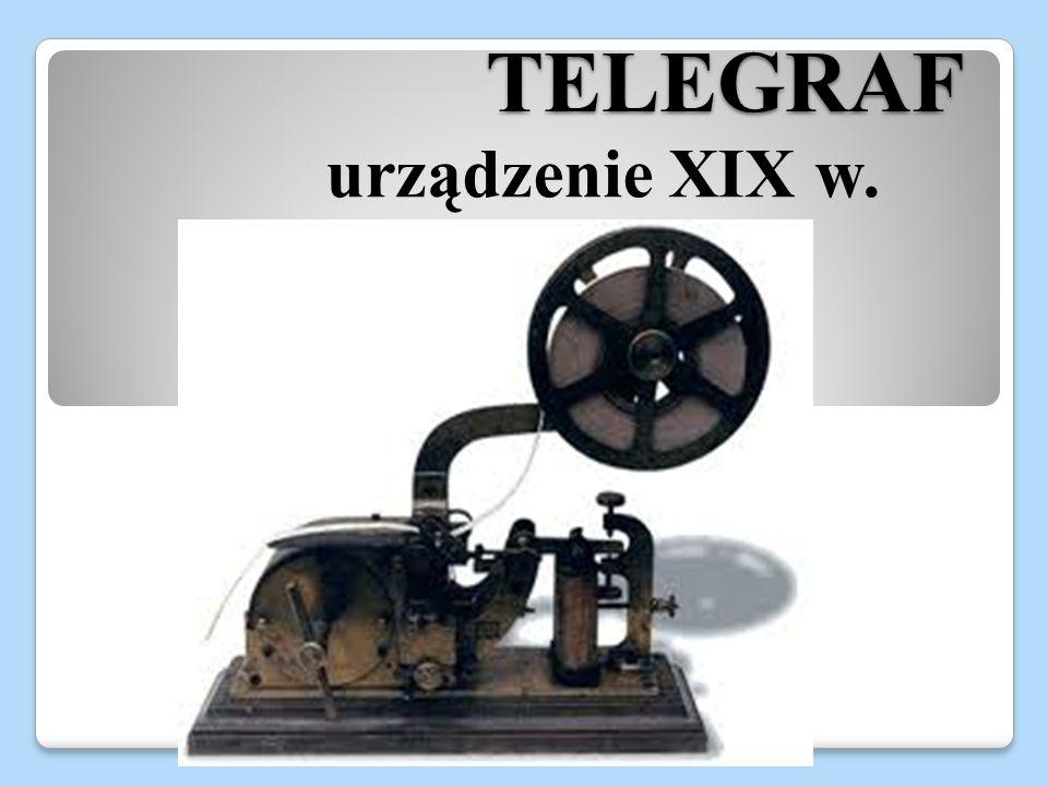 TELEGRAF urządzenie XIX w.