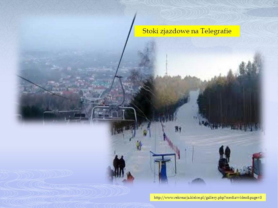 Stoki zjazdowe na Telegrafie http://www.rekreacja.kielce.pl/gallery.php?media=video&page=3