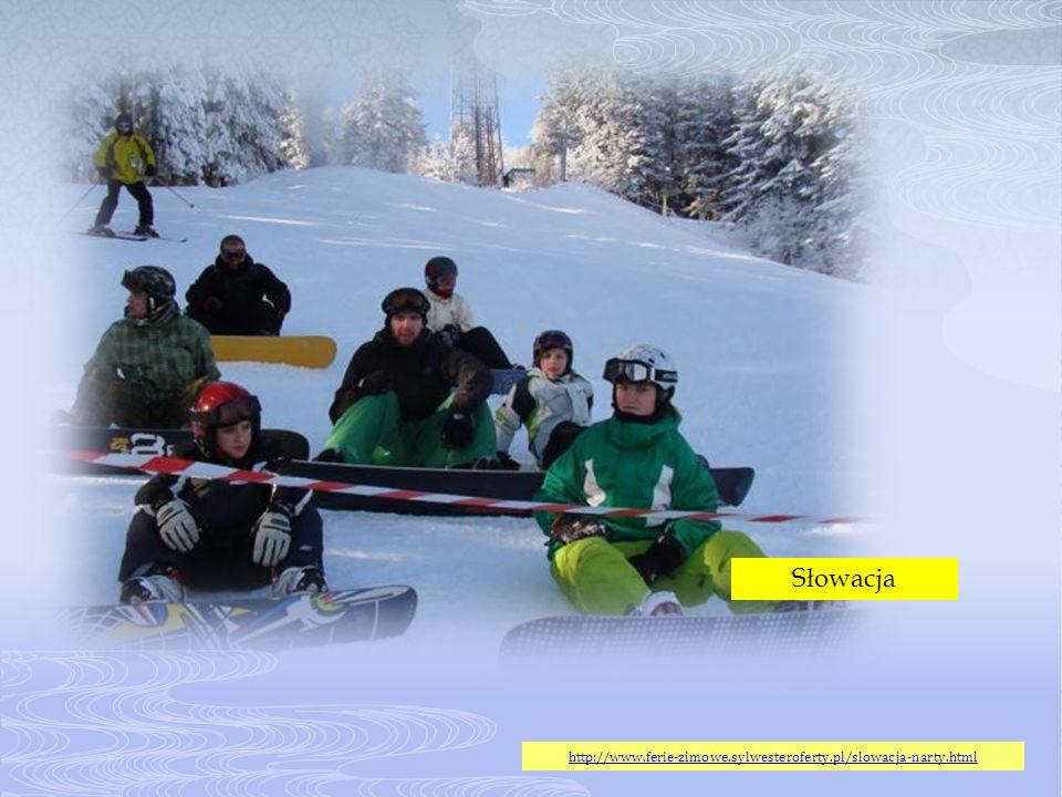 Słowacja http://www.ferie-zimowe.sylwesteroferty.pl/slowacja-narty.html