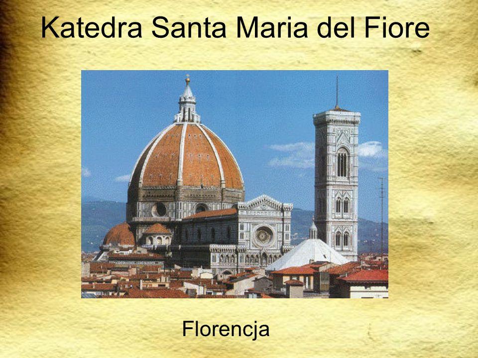 Katedra Santa Maria del Fiore Florencja