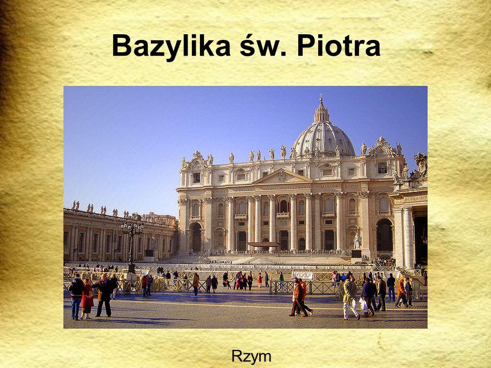 Bazylika św. Piotra Rzym