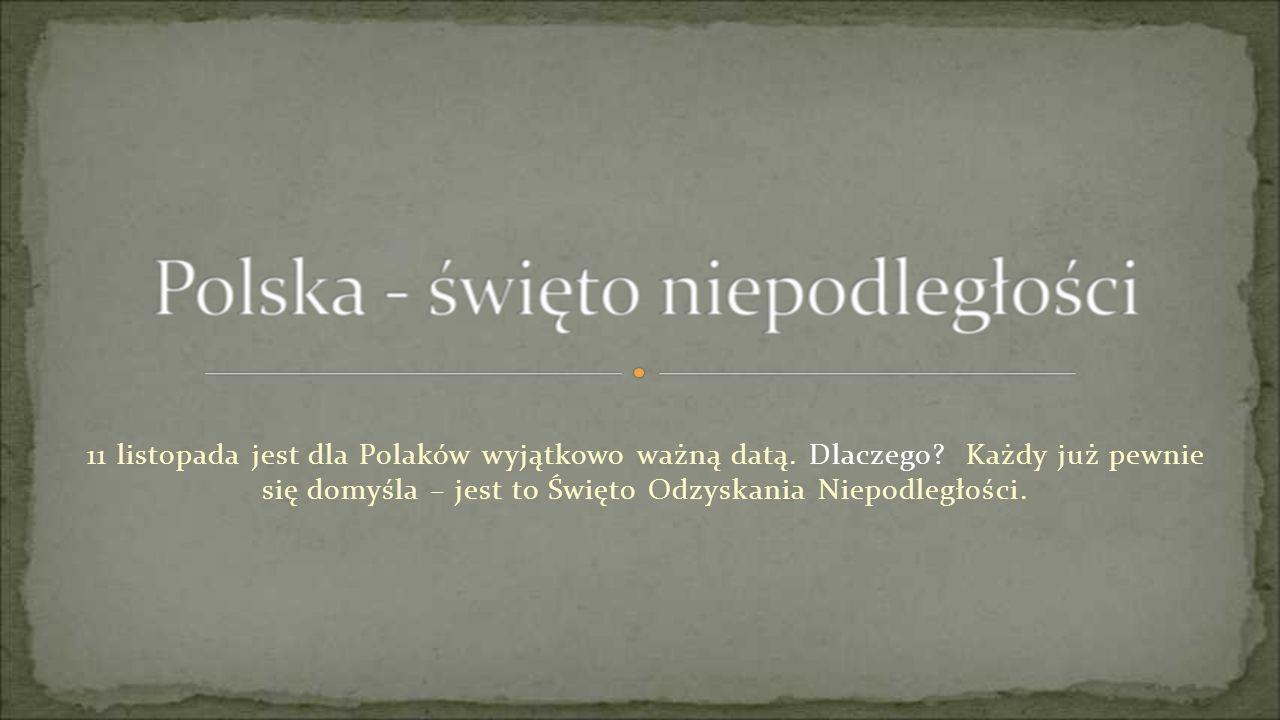 11 listopada jest dla Polaków wyjątkowo ważną datą. Dlaczego? Każdy już pewnie się domyśla – jest to Święto Odzyskania Niepodległości.