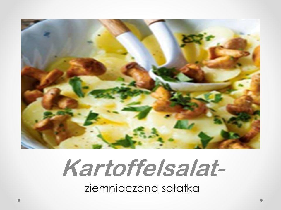 Kartoffelsalat- ziemniaczana sałatka