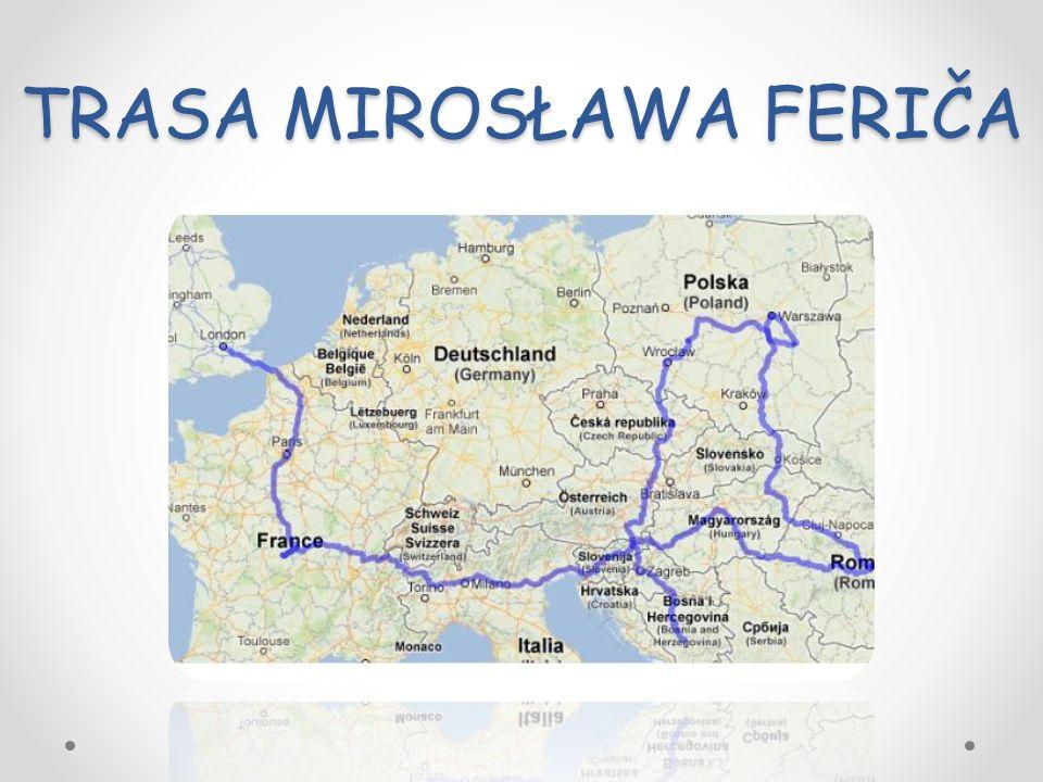 Mirosław Ferič urodził się w rodzinie mieszanej w Travniku w Austro-Węgrzech (obecnie na terytorium Bośni i Hercegowiny), jego ojciec był Chorwatem (zginął w czasie I wojny światowej), a matka Polką.