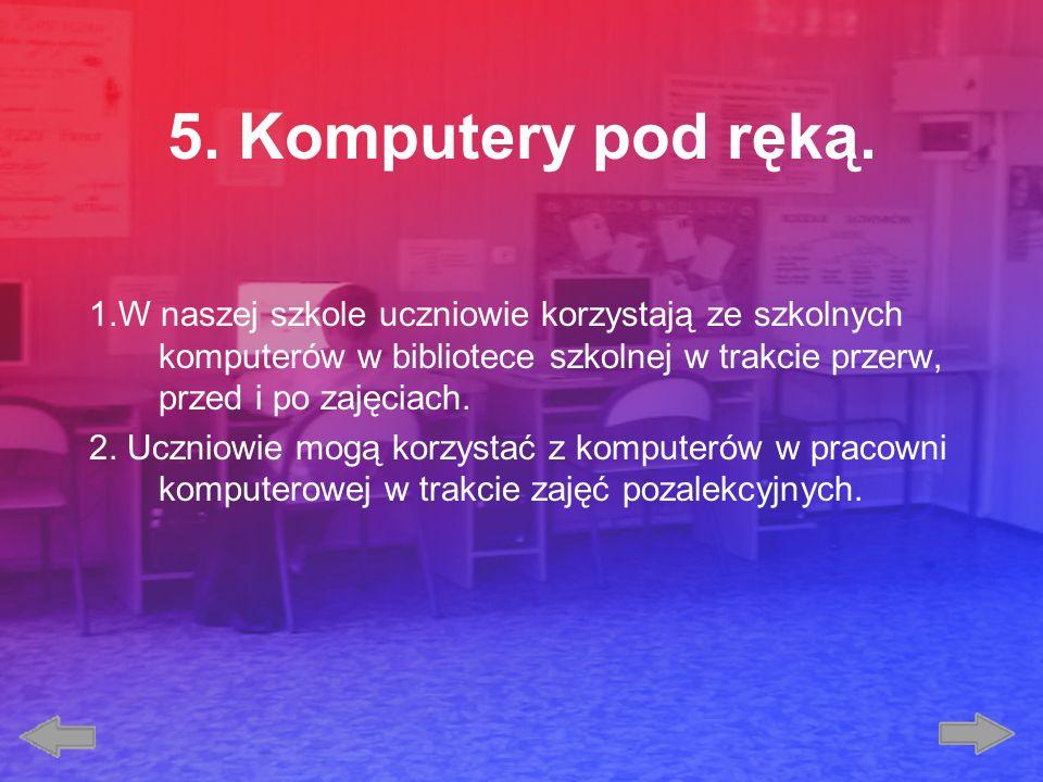 6.Bądź bezpieczny w sieci. 1.