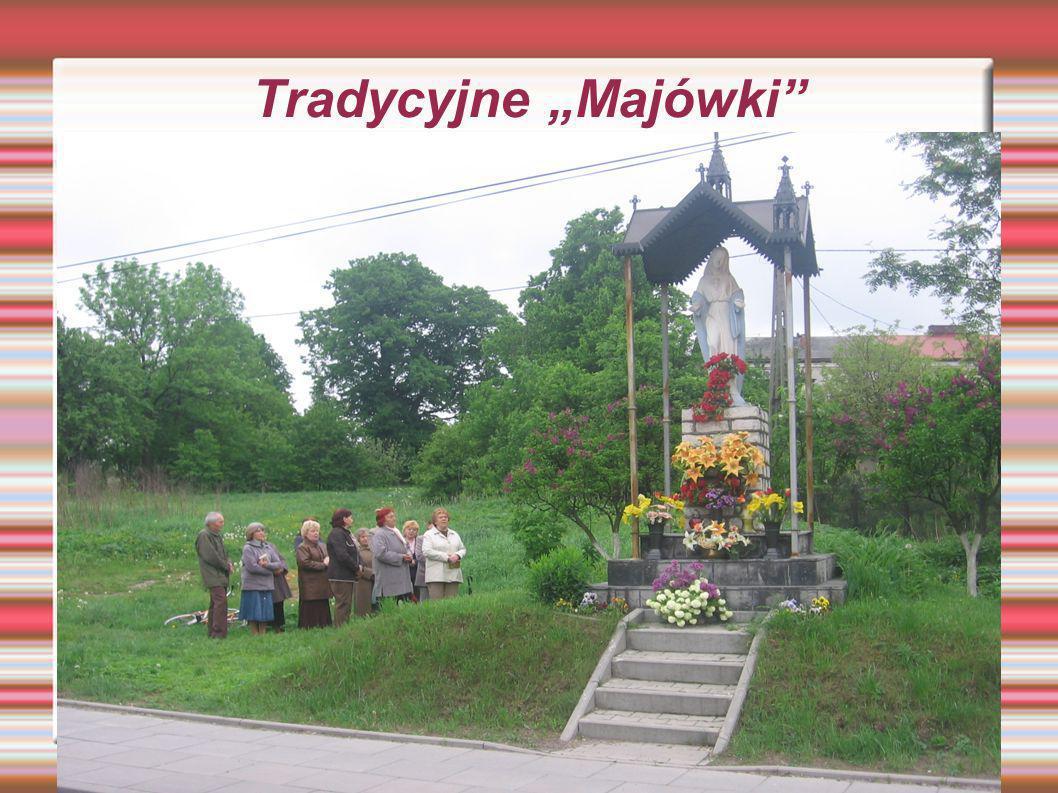 Kapliczka na posesji p.Zofii Król Pozostałość pod wymienionej kapliczce.