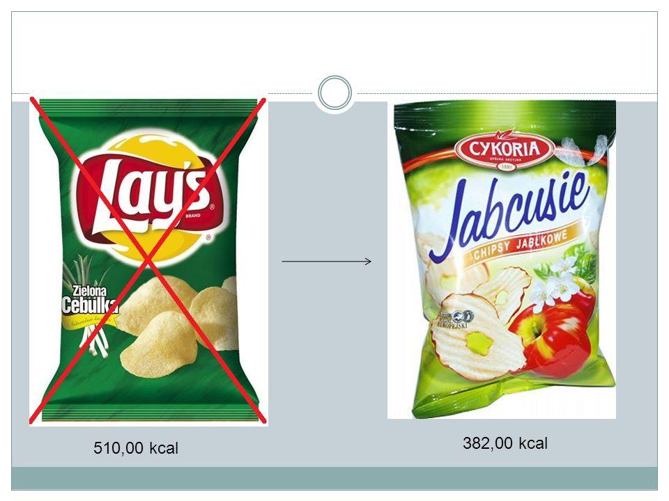 510,00 kcal 382,00 kcal