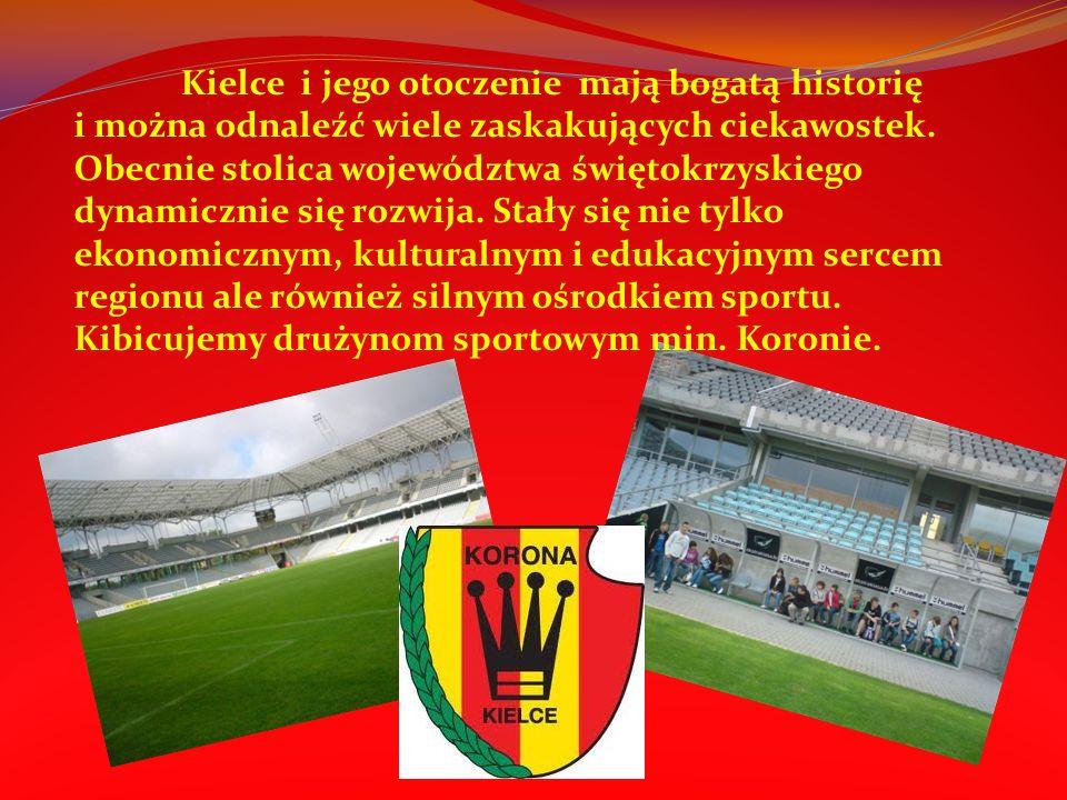 Kielce i region swiętokrzyski bogaty jest w wiele osrodków sportu.