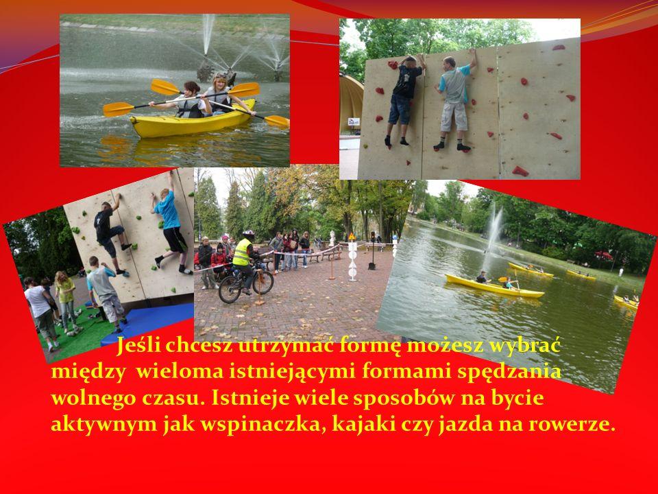 Region świętokrzyski to również bardzo popularne miejsce dla tych którzy lubią aktywnie spędzać czas.