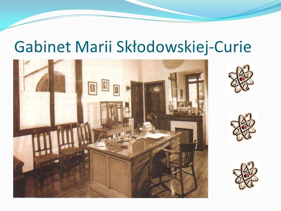 Gabinet Marii Skłodowskiej-Curie