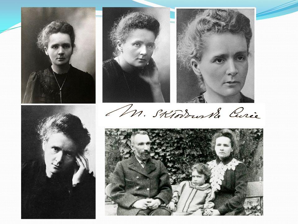 Większość życia spędziła we Francji, tam też studiowała i pracowała Była żoną francuskiego fizyka Piotra Curie M.