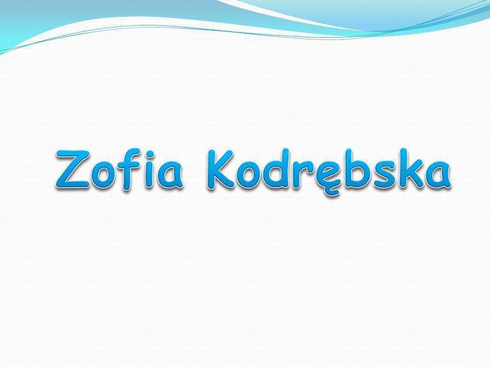 Zofia Kodrębska (ur.1798, zm.