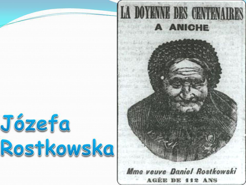 Józefa Rostkowska -ur.19 III 1784r. lub 1798r. w Warszawie, zm.