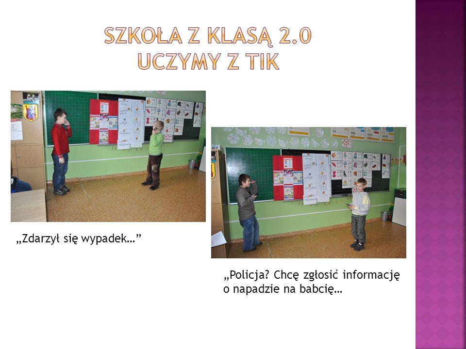 Uczniowie klasy I a i III a wraz z pomysłodawczynią zajęć
