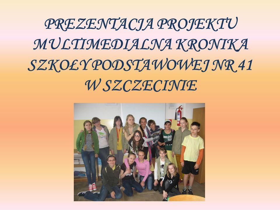 Kronika Szkoły Podstawowej Nr 41 w Szczecinie SP 41 Rok szkolny 2007/2008