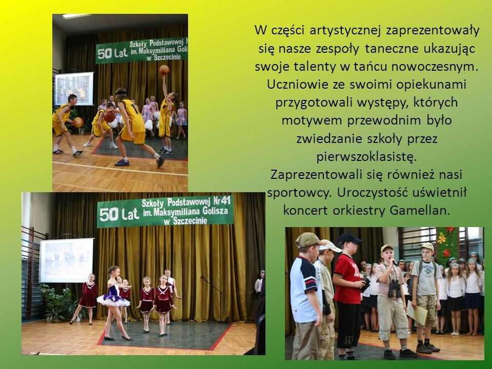 W części artystycznej zaprezentowały się nasze zespoły taneczne ukazując swoje talenty w tańcu nowoczesnym. Uczniowie ze swoimi opiekunami przygotowal