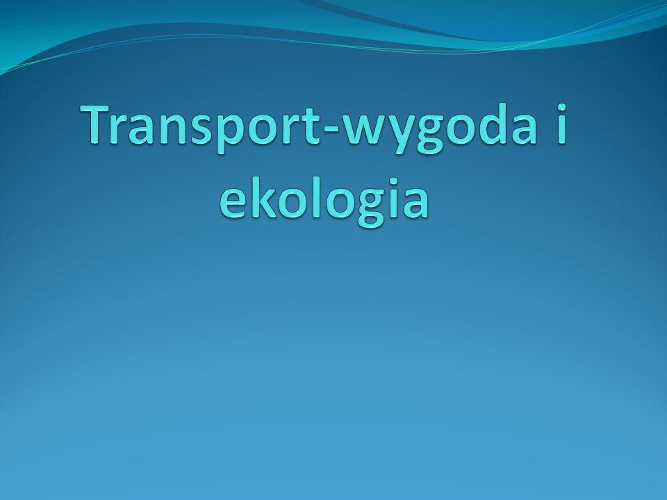 Ekologiczne środki transportu Rower Spacer Komunikacja miejska Carpooling