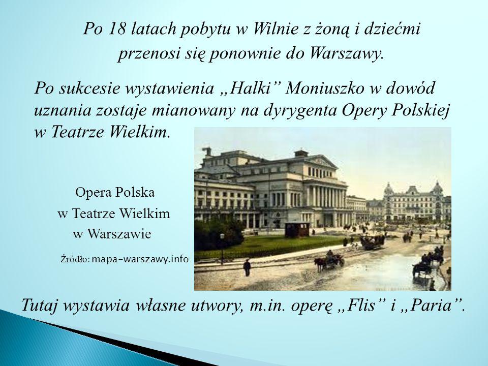 Po 18 latach pobytu w Wilnie z żoną i dziećmi przenosi się ponownie do Warszawy.