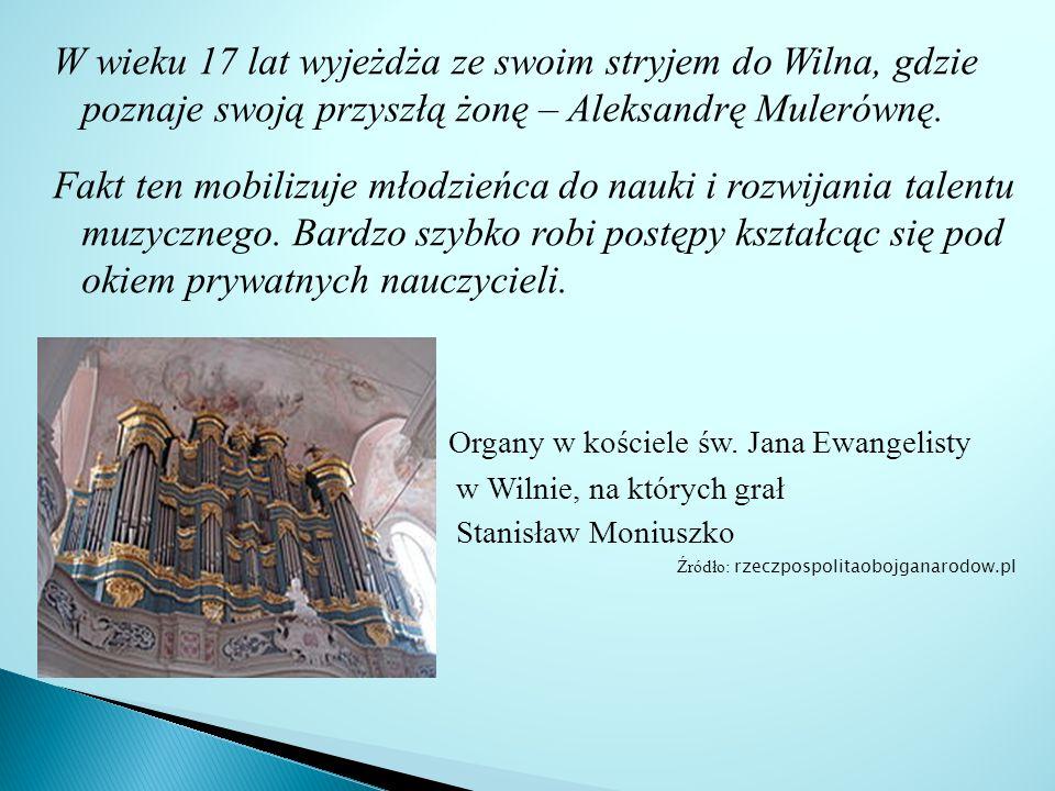 Większość pamiątek po kompozytorze znajduje się w Warszawskim Towarzystwie Muzycznym im.