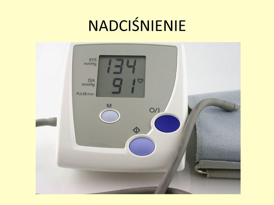 Nadciśnienie tętnicze jest chorobą układu krążenia, w której w naczyniach tętniczych panuje zwiększone ciśnienie krwi.