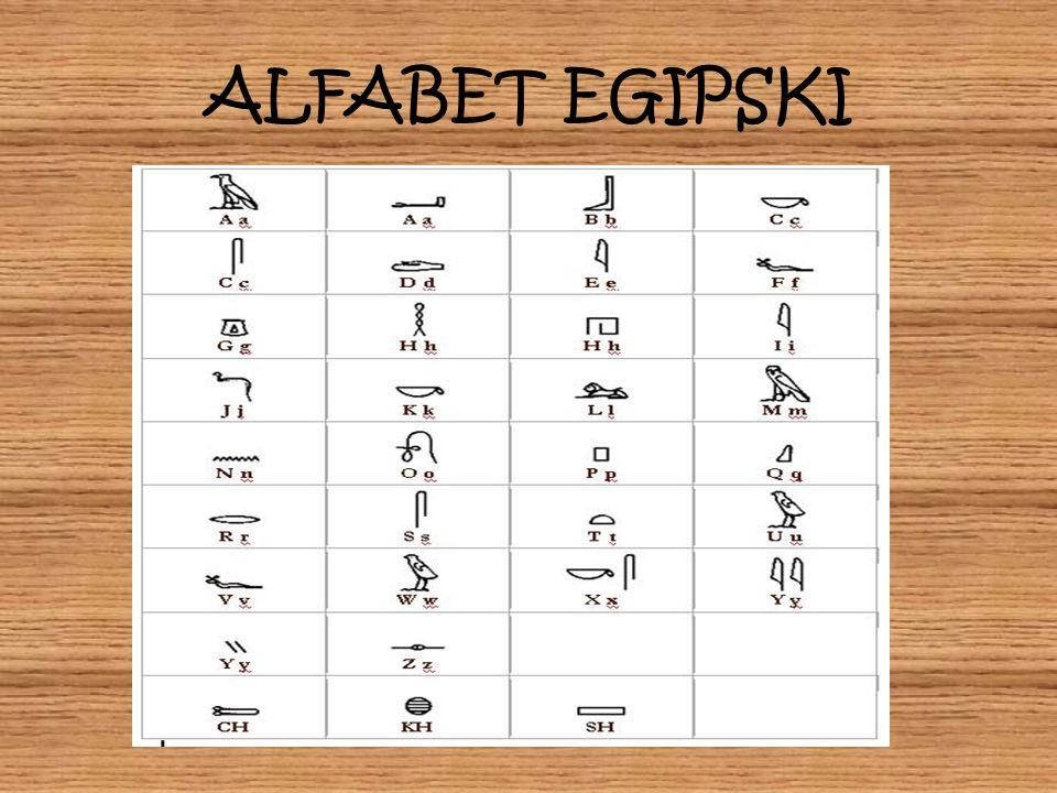 ALFABET EGIPSKI