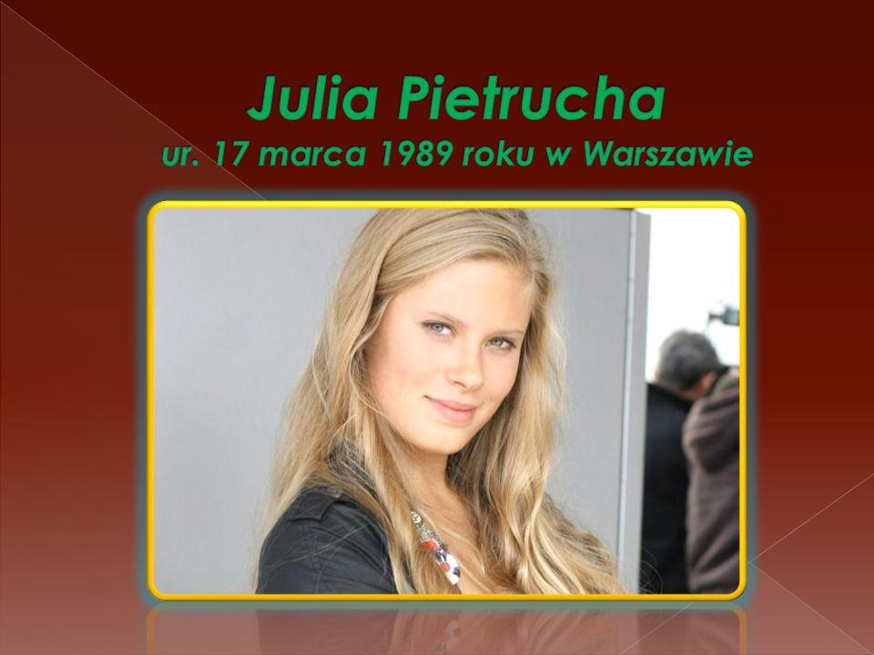 Pietrucha ukończyła II Liceum Ogólnokształcącego im.