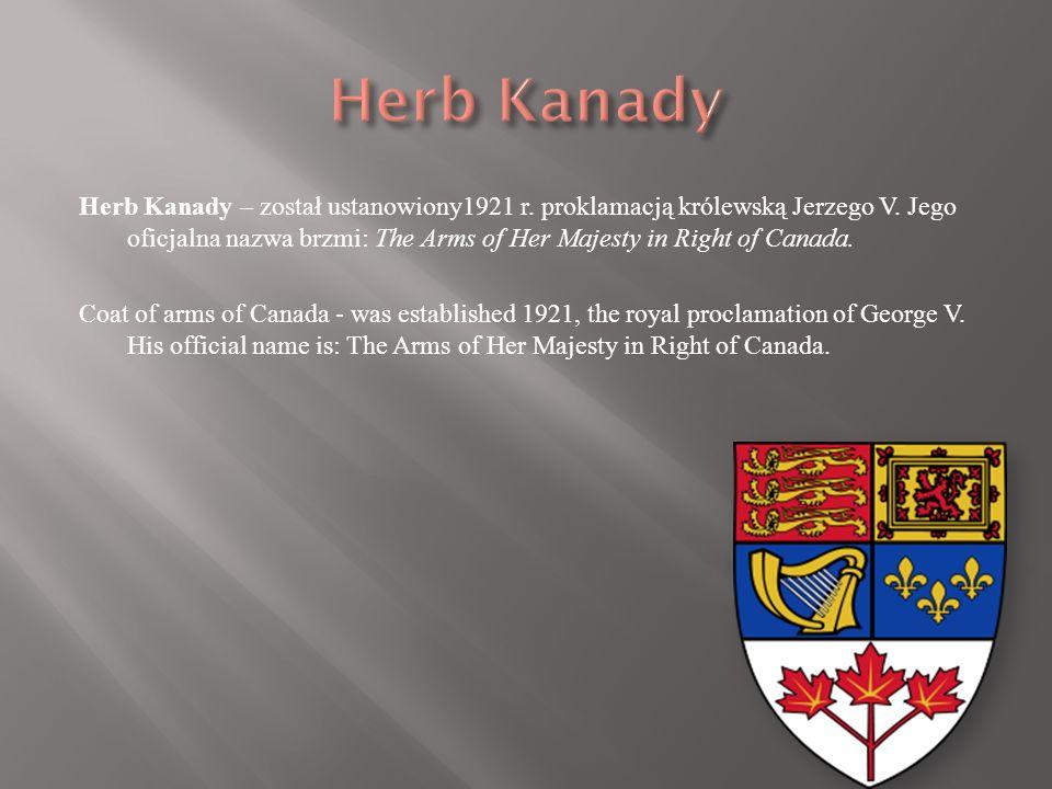 Flaga Kanady jest prostokątem podzielonym na trzy pionowe pasy: czerwony, biały i czerwony, z umieszczonym w centrum, na białym pasie, czerwonym liści