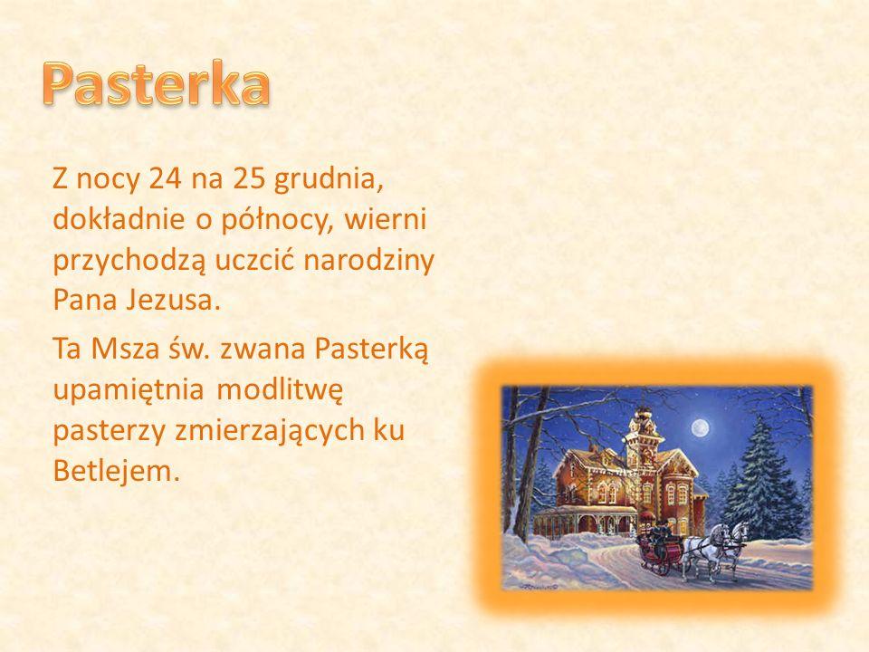 Podczas Wieczerzy Wigilijnej, jej uczestnicy, łamiąc się opłatkiem składają sobie piękne życzenia na nadchodzący nowy rok.