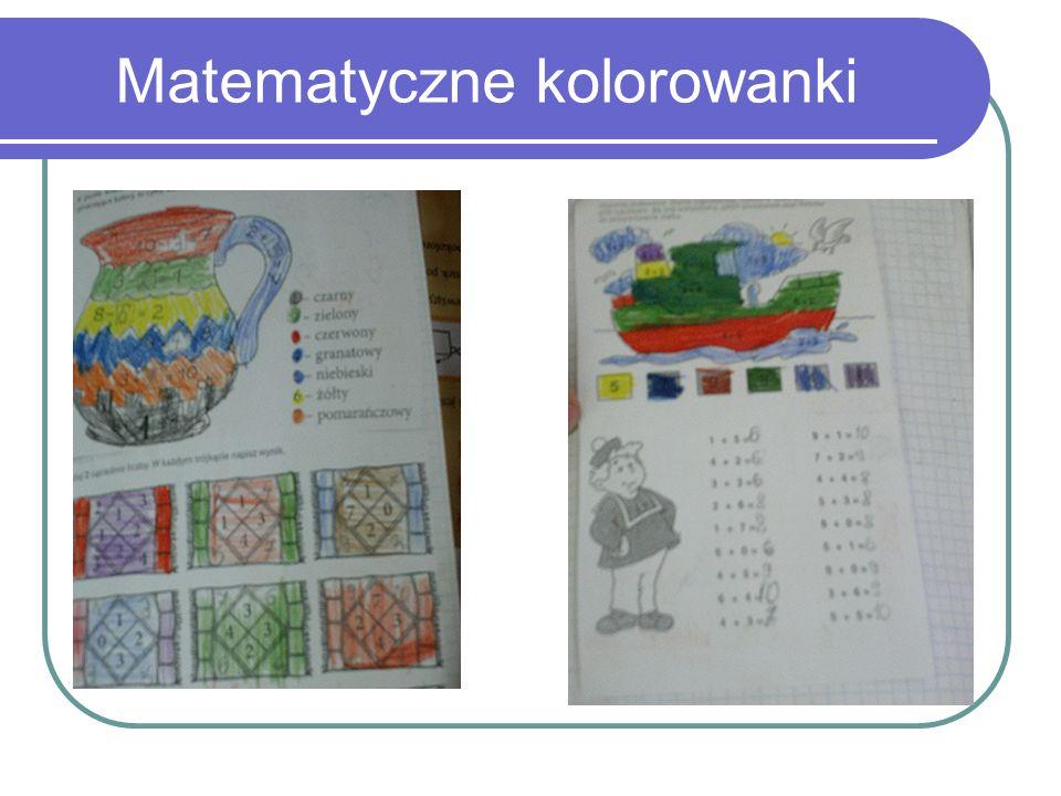 Matematyczne kolorowanki