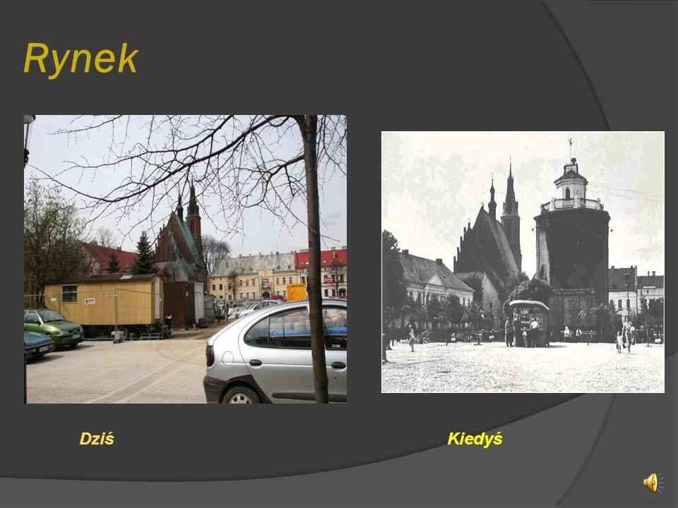 Spis treści -Rynek -Baszta i fragment murów miejskich -Bazylika mniejsza -Skrzyżowanie ulic Kościuszki, Nullo i Augustiańskiej -Mechanik -Dworzec PKP